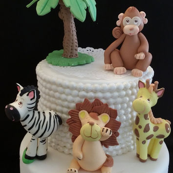 Baby Giraffe Cake Topper, Giraffe Baby Shower Cake Topper, Jungle Giraffe Cake Baby Shower, Baby Shower Favor, Baby Shower Jungle Decoration
