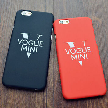 Retro Style Vogue iPhone 5s 5 6s Plus Case Cover Gift