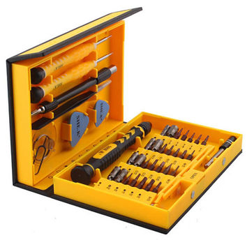 Precision 9038 Multi-function Electron Torx Screwdriver Tool Set Iphone Computer Repair Tool Free Shipping