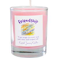 Soy Herbal candle for Friendship