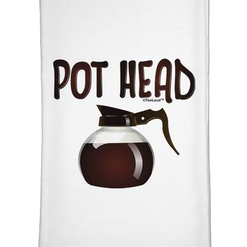 Pot Head - Coffee Flour Sack Dish Towel