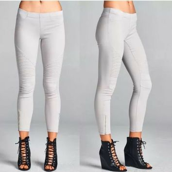 Be Cool By Staccato Moto Super Soft Jeggings Leggings