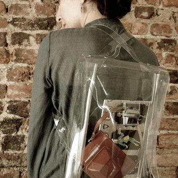 Transparent Trends   Ghost Bag No1