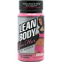 Labrada Nutrition Lean Body Her Fat Burner 60 Capsules