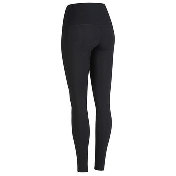 Kula Athletic Designer HAVANA Black Gym Compression Leggings