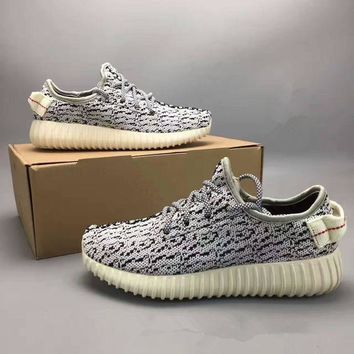 PEAPFN Adidas X Yeezy 350 Boost Oxford Tan' Fashion Casual Coconut Unisex Sneakers Couple Ru