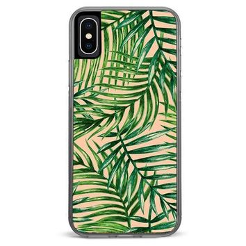 Palm Leaves iPhone XR case