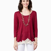 Bellamy Knit Top - Fashion Apparel - Knits and Tees | charming charlie