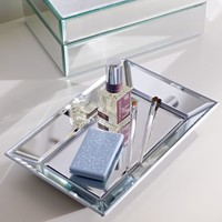 Mirrored Jewelry Tray