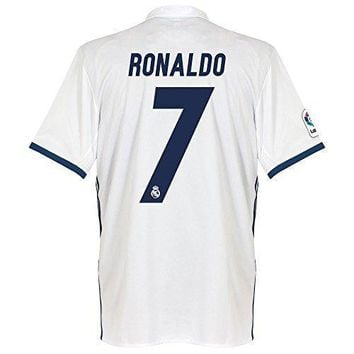 Real Madrid Home Ronaldo Jersey 2016 / 2017 (official Printing)