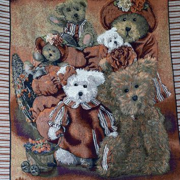 Tache 1 Piece 50 x 60 Teddy's Collection Tapestry Throw (TAB00OJHU3FM)