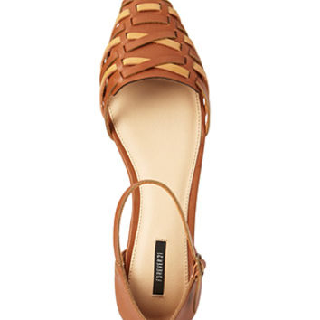 Down-To-Earth Woven Flats