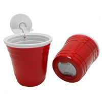 Red Solo Cup Bottle Opener