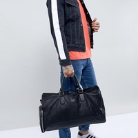 Good For Nothing carryall in black faux leather at asos.com