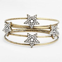 Women's Missing Piece 'Star' Crystal Cuff Bracelet