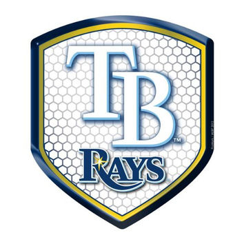 Tampa Bay Rays MLB Reflector Decal Auto Shield for Car Truck Mailbox Locker Sticker Baseball Licensed Team Logo