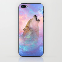 Dream By Day (Wolf Dreams - Remix Series) iPhone & iPod Skin by soaring anchor designs ⚓ | Society6