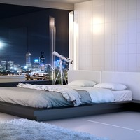 ModLoft Worth Bed - Opulentitems.com