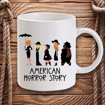 american horror story coven for Mug design by DarastyShop