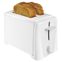 White 2-Slice Toaster: Toast Right Every Time with Kmart