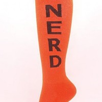 Socks by Sock Dreams  Nerd Knee Highs