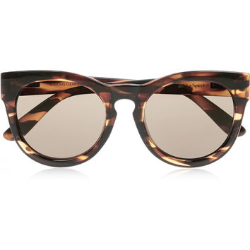 Le Specs - Jealous Games cat-eye acetate sunglasses