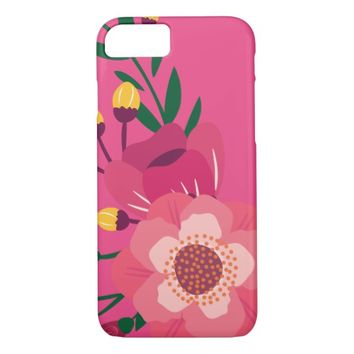 Beautiful Phone Case With Flowers