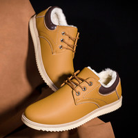 Hot Sale On Sale Casual Stylish Comfort Hot Deal Korean Cotton Shoes Men's Shoes Round-toe Plus Size Sneakers [9433606346]
