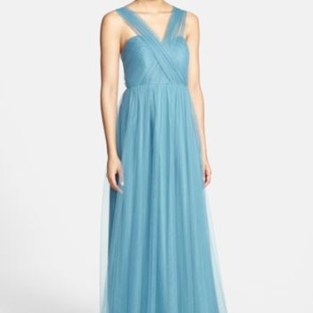 Jenny Yoo 'Annabelle' Convertible Tulle Column Dress