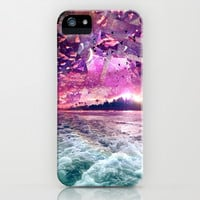 Future Island - for iphone iPhone & iPod Case by Simone Morana Cyla