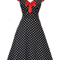 "The Black Polka Dot ""Isabella"" Dress"
