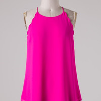 Long Weekend Tank - Pink