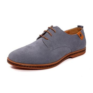 Men's Retro Oxford Leather Italian Style Casual Shoes