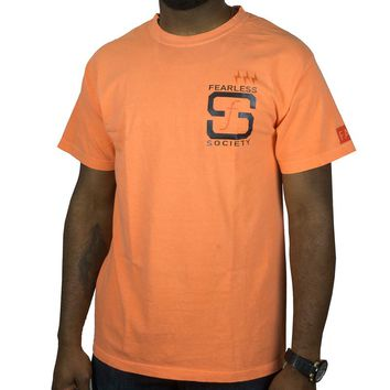 SF Native Tee in orange