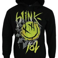 Blink 182 Big Smile Black Unisex Hoodie - Buy Online at Grindstore.com