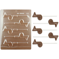 Music Note Lollipop Chocolate Mold