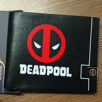 Deadpool Dead pool Taco New cartoon wallet  Superman Batman multi - card wallet short wallet AT_70_6
