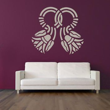 Wall Decal Sticker Egypt Symbol Bedroom Decal  z219