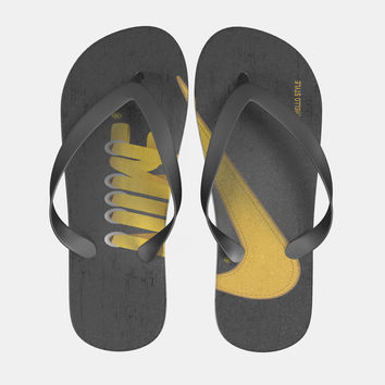 Nike Laces Hugo Silva Flip Flops Men Women