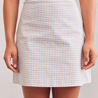 Side Party Defo Gingham Mini Skirt | Urban Outfitters
