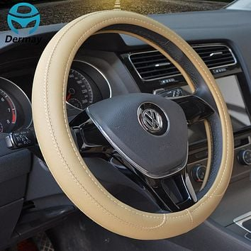 CAR STEERING WHEEL COVER MULTI CHOICE SIZE M DIAMETER 38CM AUTOMOTIVE INTERIOR ACCESSORIES