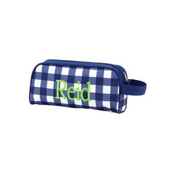 CUSTOM Monogram Owen Toiletry Bag -- Great for Sorority's and Fraternity's!!