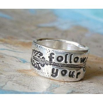 Follow Your Arrow Boho Ring