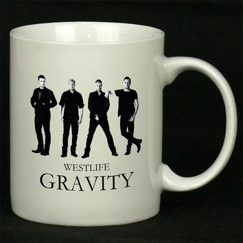 WESTLIFE Gravity For Ceramic Mugs Coffee *