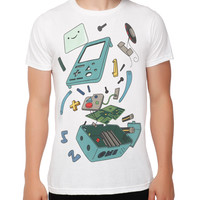Adventure Time BMO In Pieces Slim-Fit T-Shirt