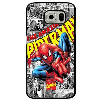 Spider-Man TPU+PC Case For Samsung Galaxy S6