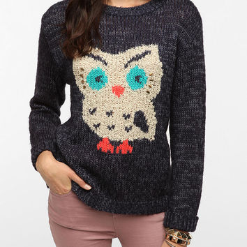 Urban Outfitters - Pins And Needles Flocked Wildlife Pullover