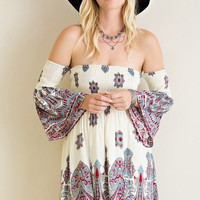 Sweetest Thing Off The Shoulder Dress