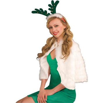 Costume Accessory: Antlers with Bells Headband