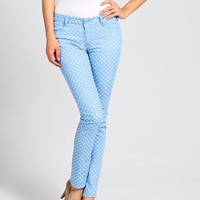 Polka Dot Skinny Pants